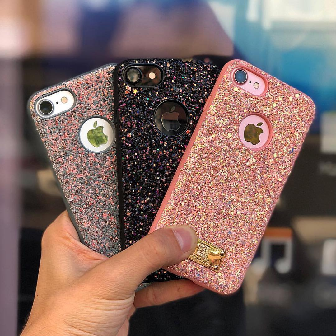 Image result for puloka glitter case iphone 6 plus